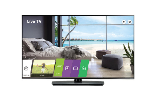 LG 49UT761H. Bildschirmdiagonale: 124,5 cm (49 Zoll), Bildschirmauflösung: 3840 x 2160 Pixel, HD-Typ